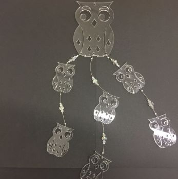 Acrylic Owl mobile kits