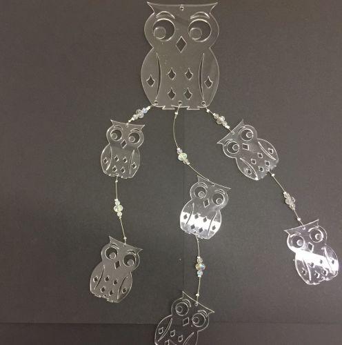 Acrylic Owl mobile kits
