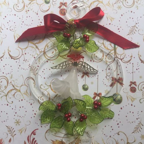 Christmas acrylic angel kit