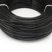 Wire black 1.5mm
