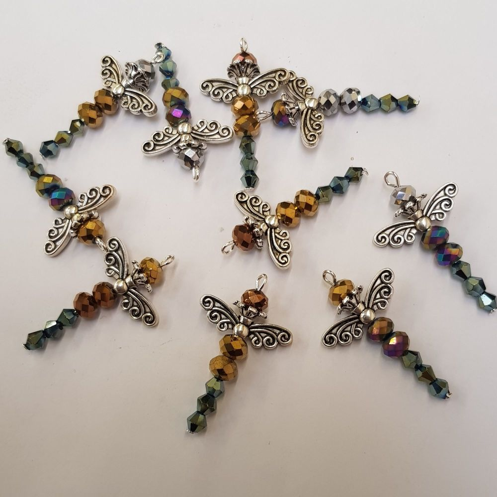 Beaded dragonfly kit