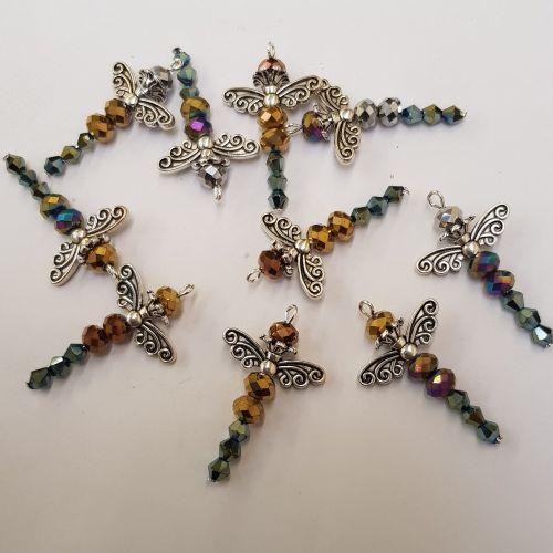 Beaded dragonfly kit