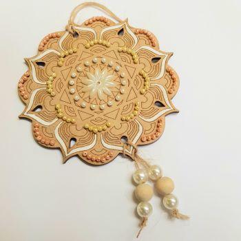 Beaded Mandala Ornament kit