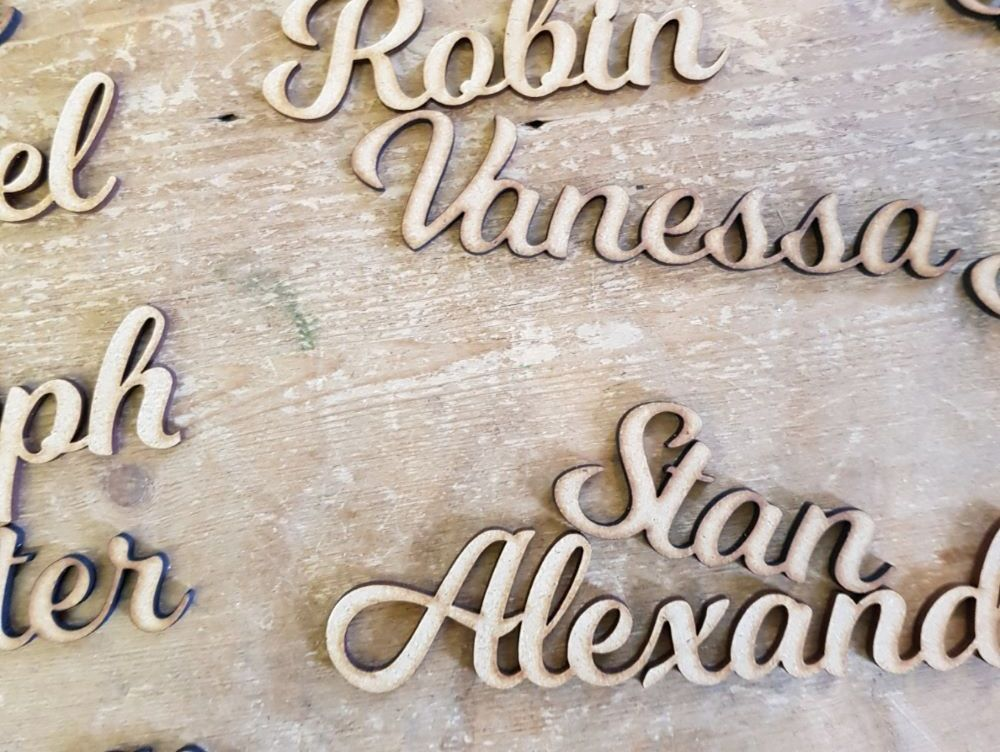 Personalised plaques & signs