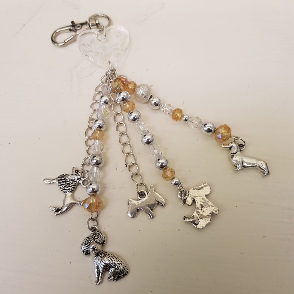 Dog key chain kit