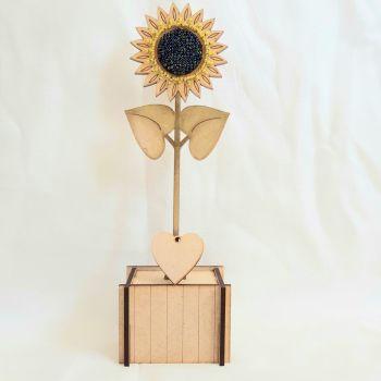 Beaded Sunflower kit