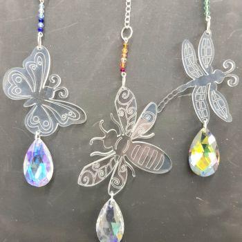C2 Crystal Bug hangers