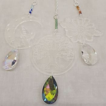 C3 Crystal fantasy hangers
