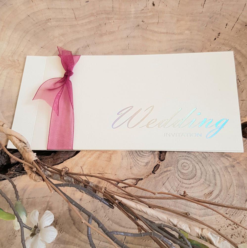 Cheque book Invitations