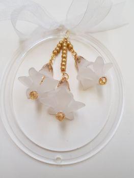 Beaded bell ornament kit