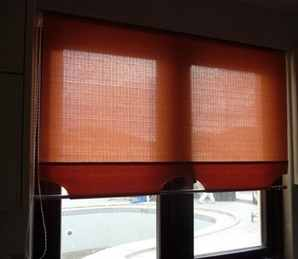 Roller Blind with customised lower edge