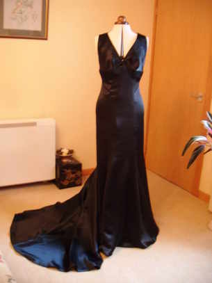 evening dress formal long midnight