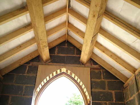 Porch roof Shoby