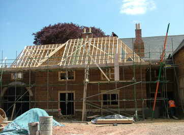 Priory Roof early stages