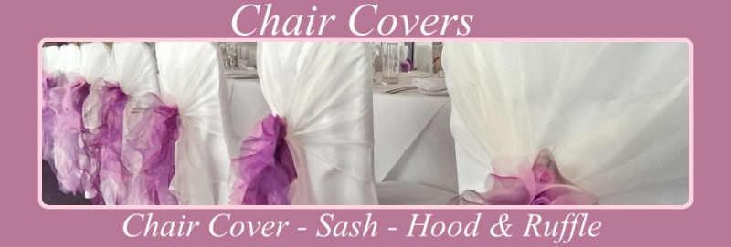banner chair cover