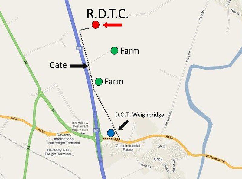 rdtc map
