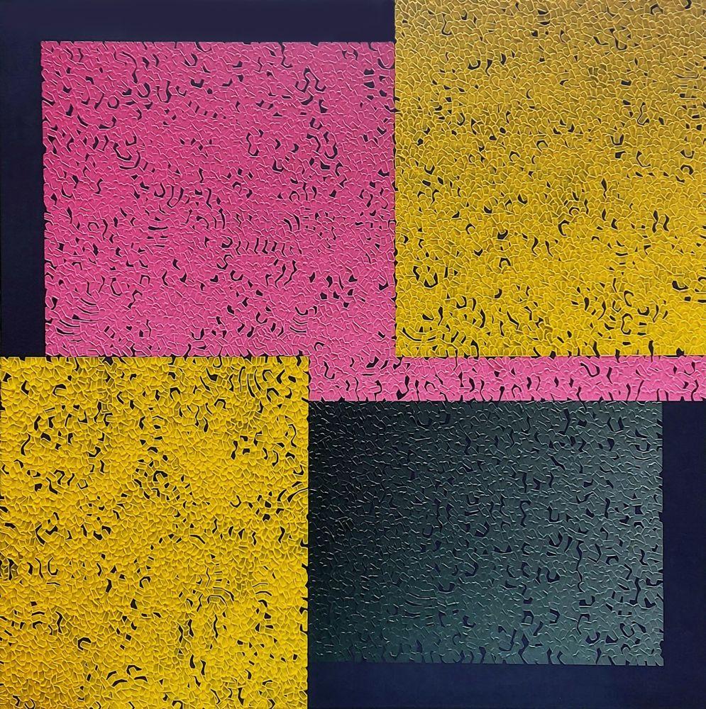 Modus Four, 80 x 80cm, oil on canvas, 2020
