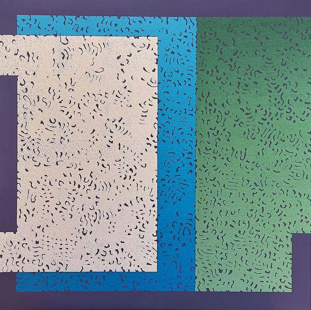 Mdus Five, 2020, oil on linen, 80 x 80 cm
