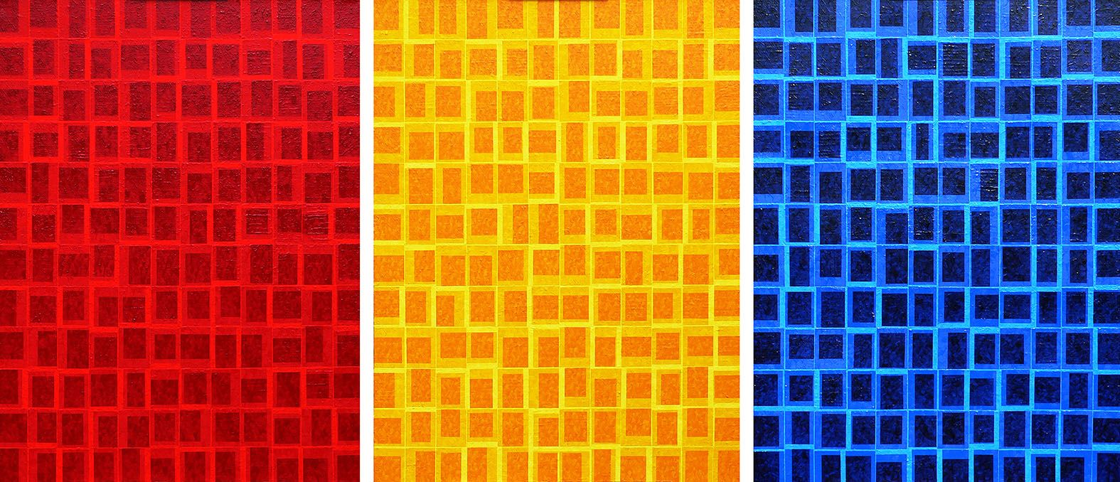 Primary One, oil on canvas, 121 x 175cm, 2014