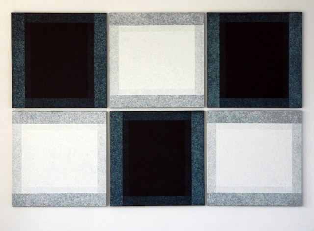 Six, oil on canvas, 233 cm x 155 cm, 2010 - 2011
