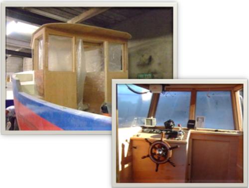life boat cabin