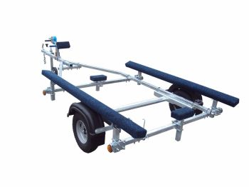 EXTREME 350KG INFLATABLE BOAT TRAILER