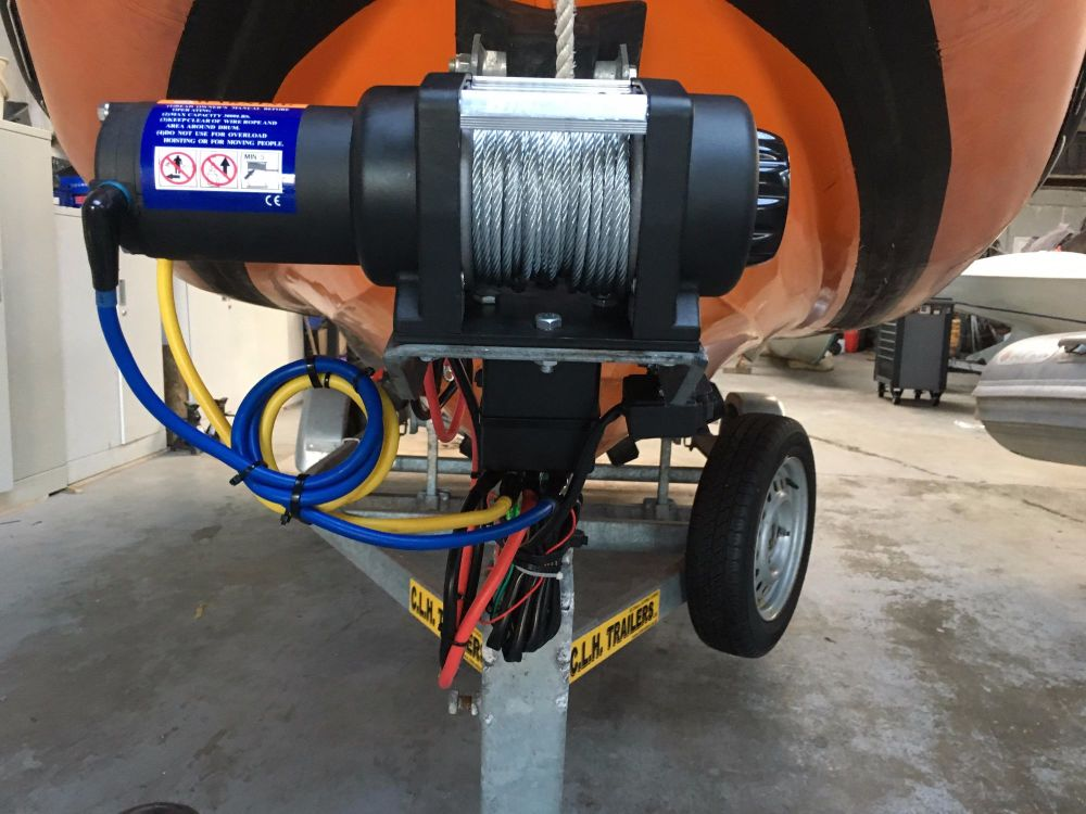 trailer electric winch