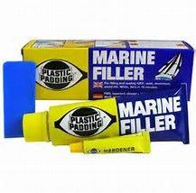 Plastic Padding marine filler white