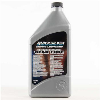 Quicksilver High Performance Gear lube 1 liter