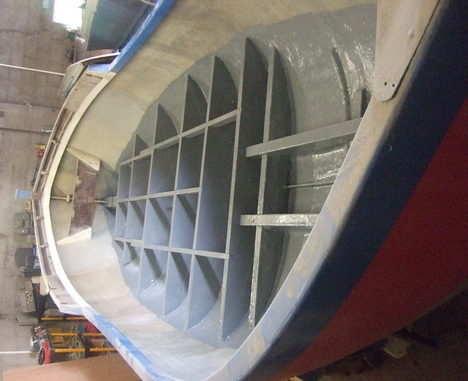 lifeboat complete new floor bearers