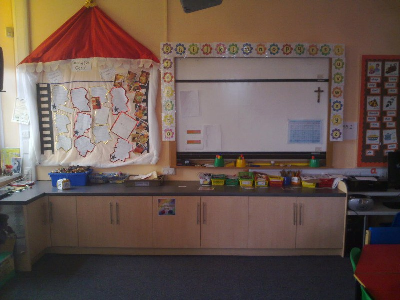 class 1 lowered cupboards