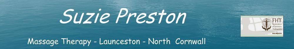 Suzie Preston Massage Therapy, site logo.