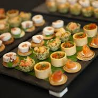 From sandwiches to canapes...