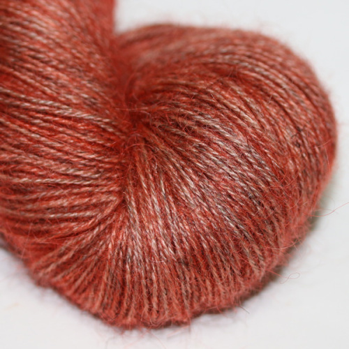 4ply Wensleydale and Shetland - copper WS