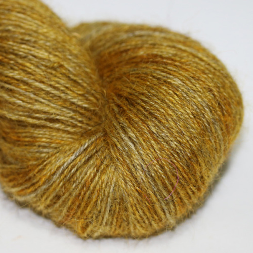 4ply Wensleydale and Shetland - gold WS