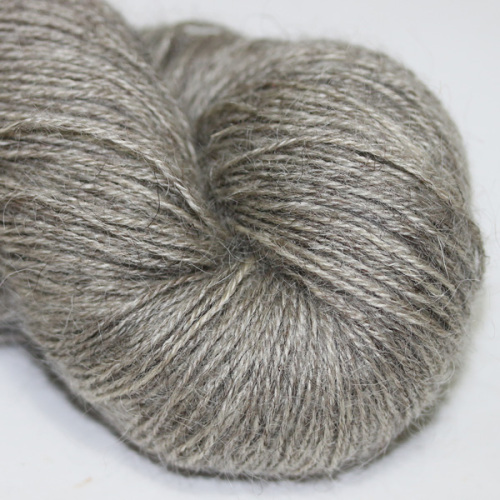 4ply Wensleydale and Shetland - silver WS
