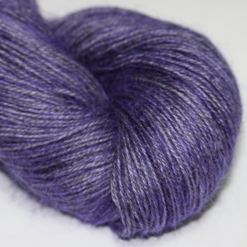 4ply Wensleydale and Shetland - violet WS