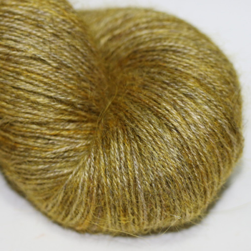 4ply Wensleydale and Shetland - yellow WS