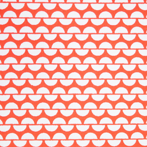 <!-- 003 -->Hand Printed FQ Tangerine