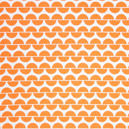 <!-- 004 -->Hand Printed FQ Orange