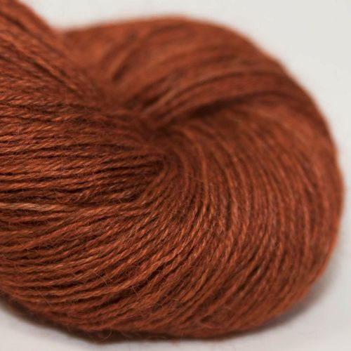 4ply Wensleydale and Shetland - copper 17B
