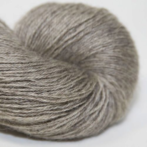 4ply Wensleydale and Shetland - silver 17B
