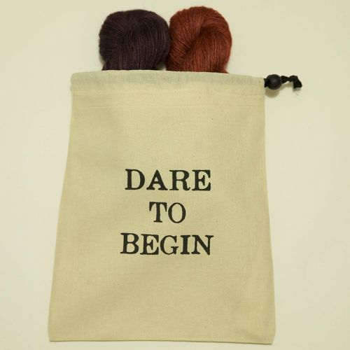 Dare To Begin Project Bag