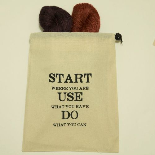 Start Where You Are Project Bag