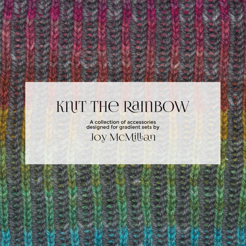 Knit The Rainbow Pattern Book - Printed Copy