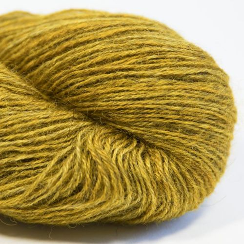 4ply Wensleydale and Shetland - gold 17H