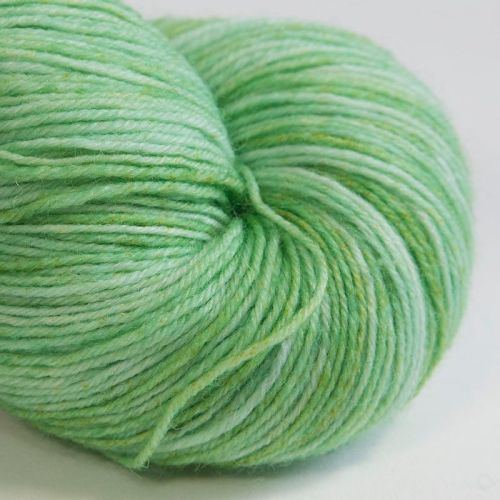 4ply wool and nylon - Green Tints 17H