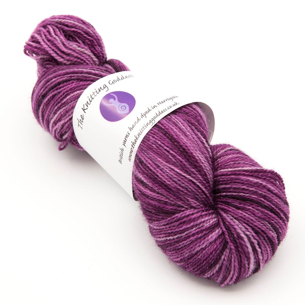 <!-- 001-->4ply BFL & nylon - single colours