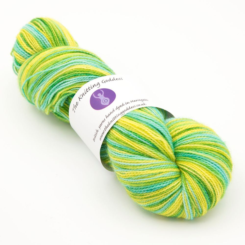 <!-- 002 -->4ply BFL & nylon - multicolours