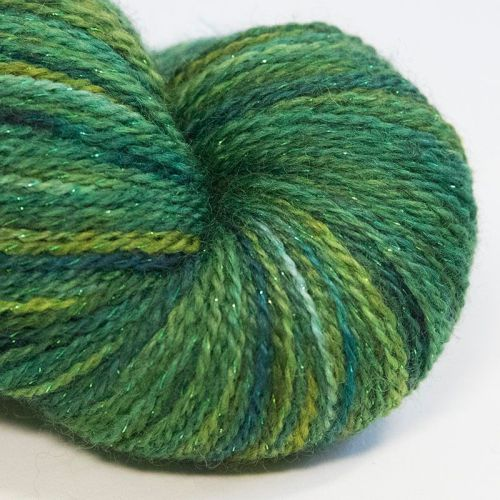 <!-- 005 -->4ply BFL & Masham Sparkle - Meadow 17Z